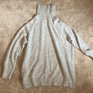 H&M tunic sweater oversized